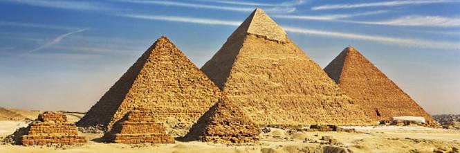 Troppi enigmi e misteri: siti archeologici, complessi megalitici e mura ciclopiche di cui non si conosce la storia. E i misteri che celano. Nella foto le piramidi di Giza.