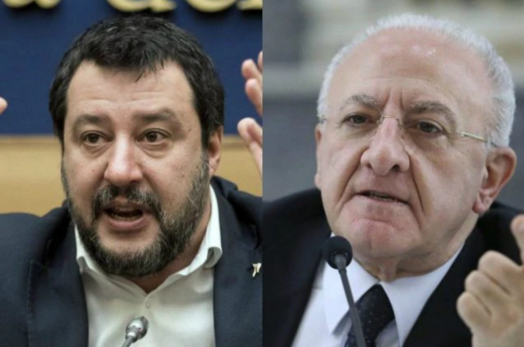 Salvini vs De Luca