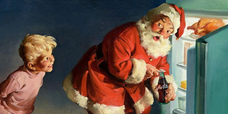 Babbo Natale un turco americano: ok facciamo il Natale tradizionale senza Santa, albero di natale, pomodoro, polenta, cioccolata e caffè