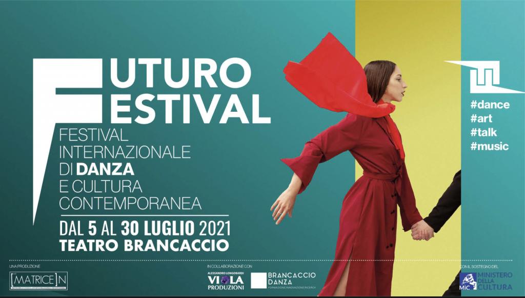 Al Teatro Brancaccio: Futuro Festival, La danza contemporanea, la danza urbana insieme a forme di arte performativa dialogano con il pubblico